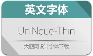 UniNeue-Thin(英文字体)