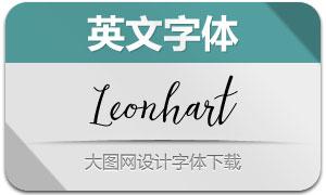 Leonhart(英文字体)