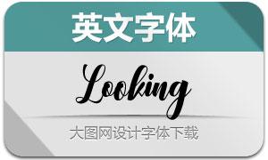 Looking(英文字体)