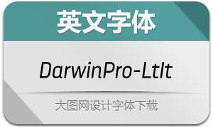 DarwinPro-LightIt(英文字体)