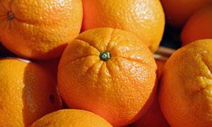 个头均匀优选品质橙子摄影高清图片