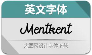 Mentkent(英文字体)