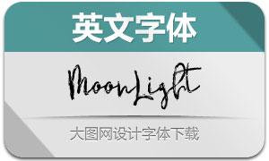 MoonLight系列两款英文字体