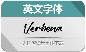 Verbena(英文字体)