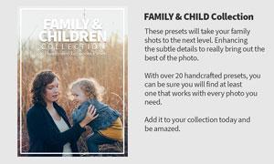 20款家庭照片后期调色效果LR预设