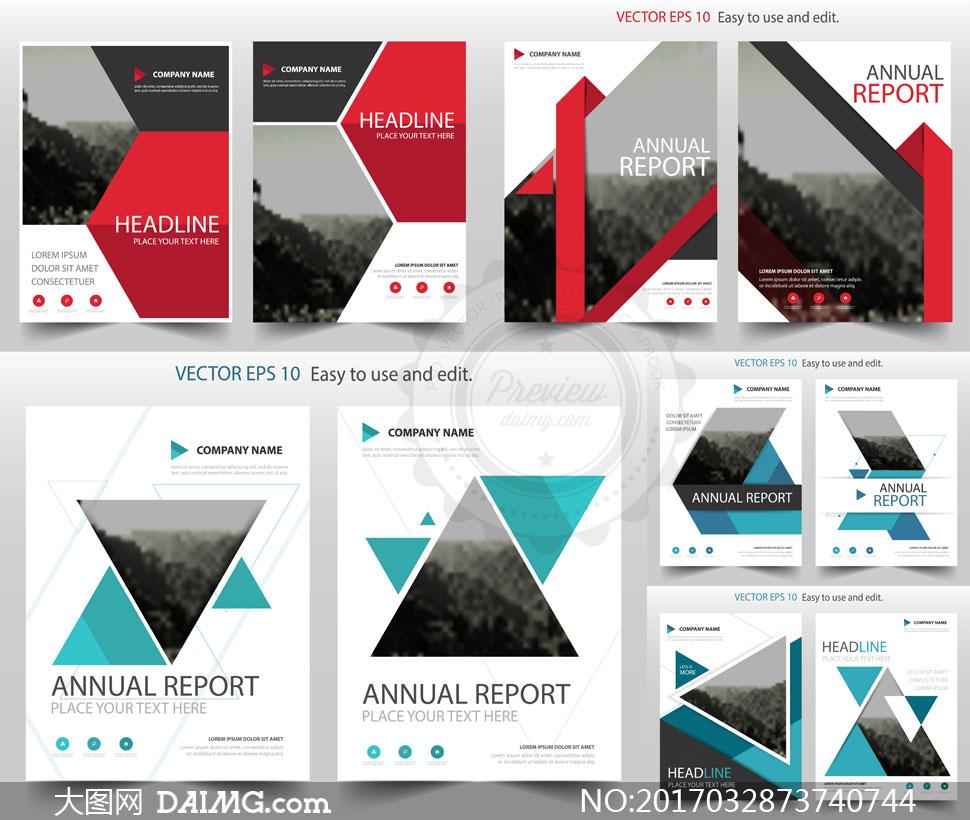 关 键 词: 矢量素材矢量图设计素材画册页面版式设计画册封面封面