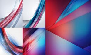 光效元素几何抽象背景创意矢量素材
