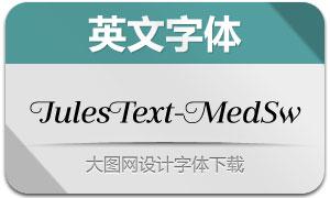 JulesText-MediumSwashes(字体)