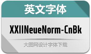 XXIINeueNorm-CndBlack(英文字体)