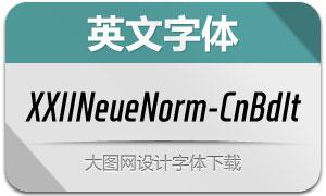 XXIINeueNorm-CndBoldIt(字体)