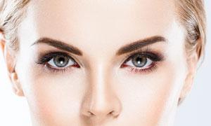 美女人物明亮双眸特写摄影高清图片