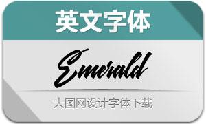 Emerald-Normal(英文字体)