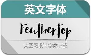Feathertop(英文字体)