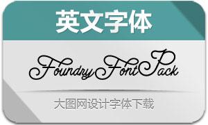 FoundryFontPack(英文字体)