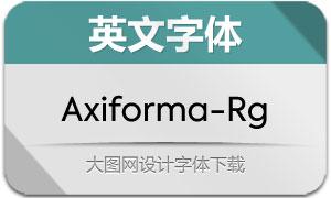 Axiforma-Regular(英文字体)