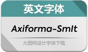 Axiforma-SemiBoldItalic(英文字体)