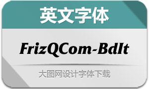 FrizQuadrataCom-BdIt(英文字体)