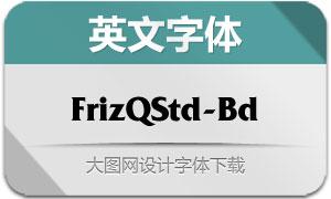 FrizQuadrataStd-Bold(英文字体)