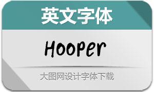 Hooper-Regular(英文字体)