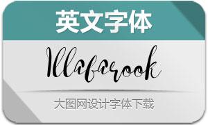 Illabarook(英文字体)