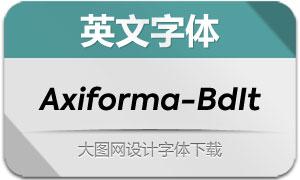 Axiforma-BoldItalic(英文字体)
