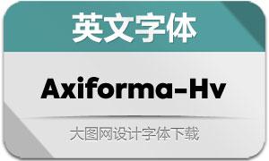 Axiforma-Heavy(英文字体)