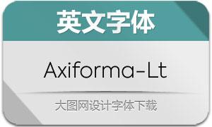 Axiforma-Light(英文字体)