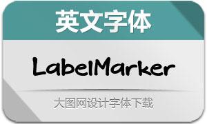 LabelMarker(英文字体)