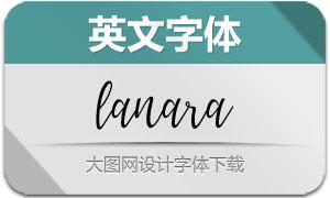LanaraScript(英文字体)