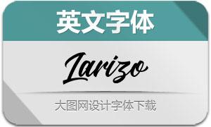Larizo(英文字体)