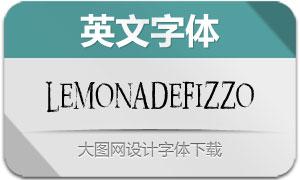 LemonadeFizzo(英文字体)