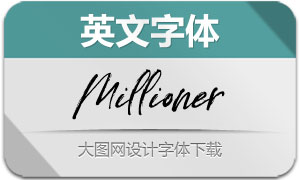 Millioner-Regular(英文字体)