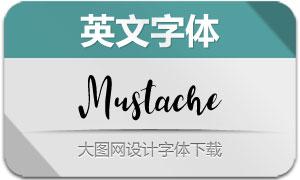 Mustache-Regular(英文字体)