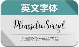 PleasselioScript(英文字体)