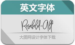 Rosefield-Alt(英文字体)