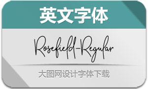 Rosefield-Regular(英文字体)