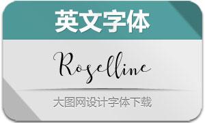 Roselline(英文字体)