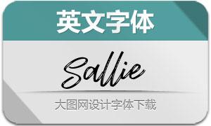 Sallie-Regular(英文字体)
