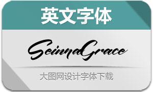 SeinnaGrace(英文字体)