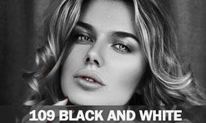 109款高质量人像后期黑白效果PS动作