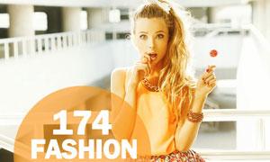 174款时尚模特后期艺术效果PS动作