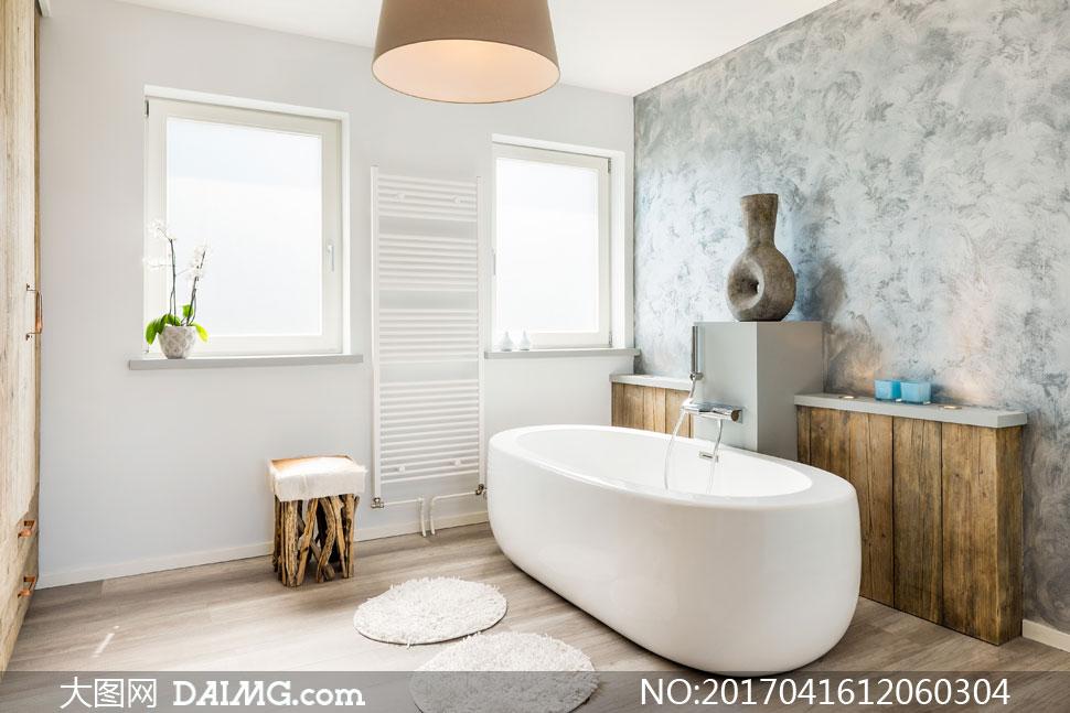 浴室卫生间装修实景效果图高清图片