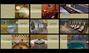 企业商务画册设计模板矢量素材