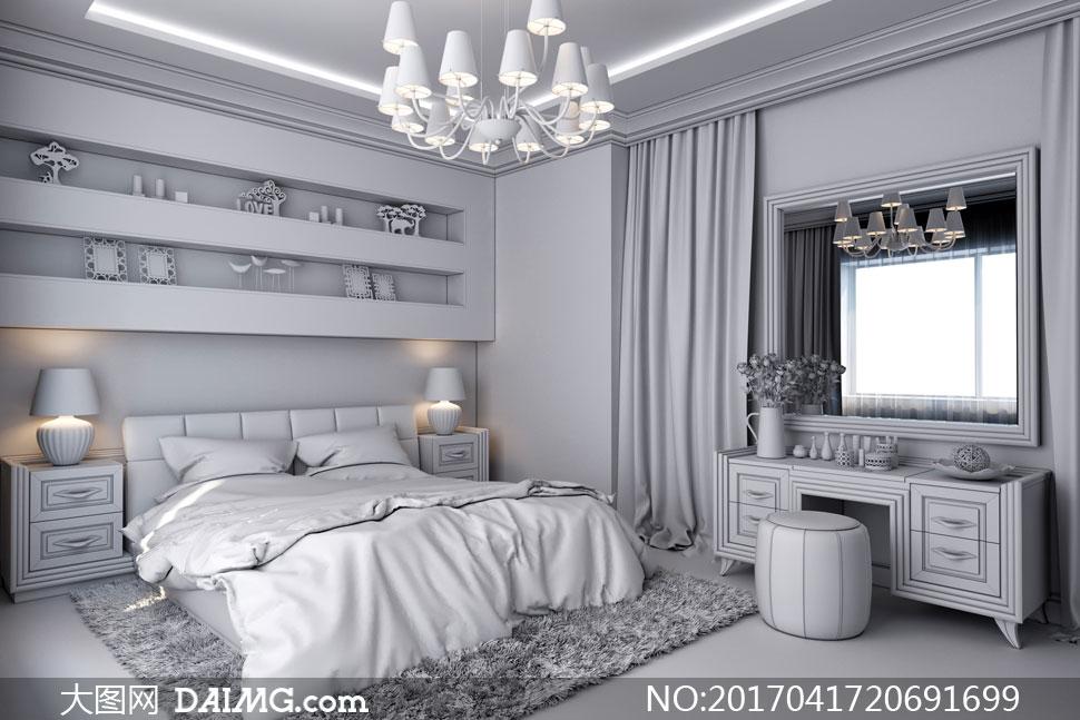 词: 高清大图图片素材室内空间装饰家装渲染图家居家具效果图装潢房间
