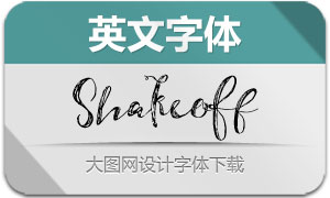 Shakeoff(英文字体)