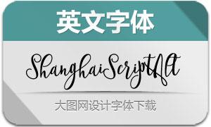 ShanghaiScriptAlt(英文字体)