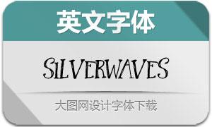 Silverwaves(英文字体)