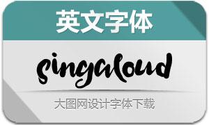 SingAloud(英文字体)