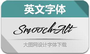 SmoochAlternates(英文字体)