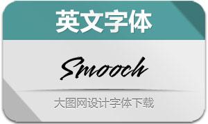 Smooch-Regular(英文字体)